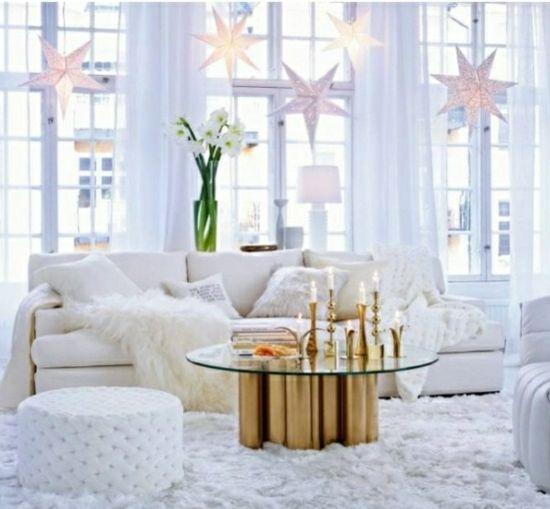 Emejing Winter Deko Wohnzimmer Contemporary - House Design Ideas ...