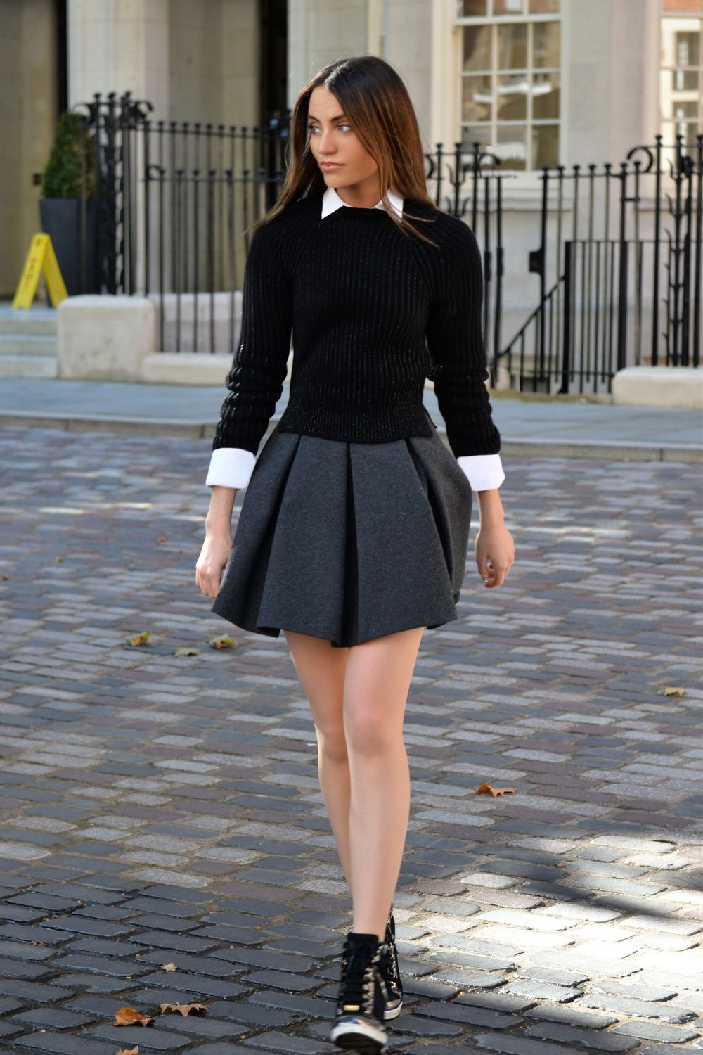 Back to school blair waldorf style uniforms trends by maureen sophie