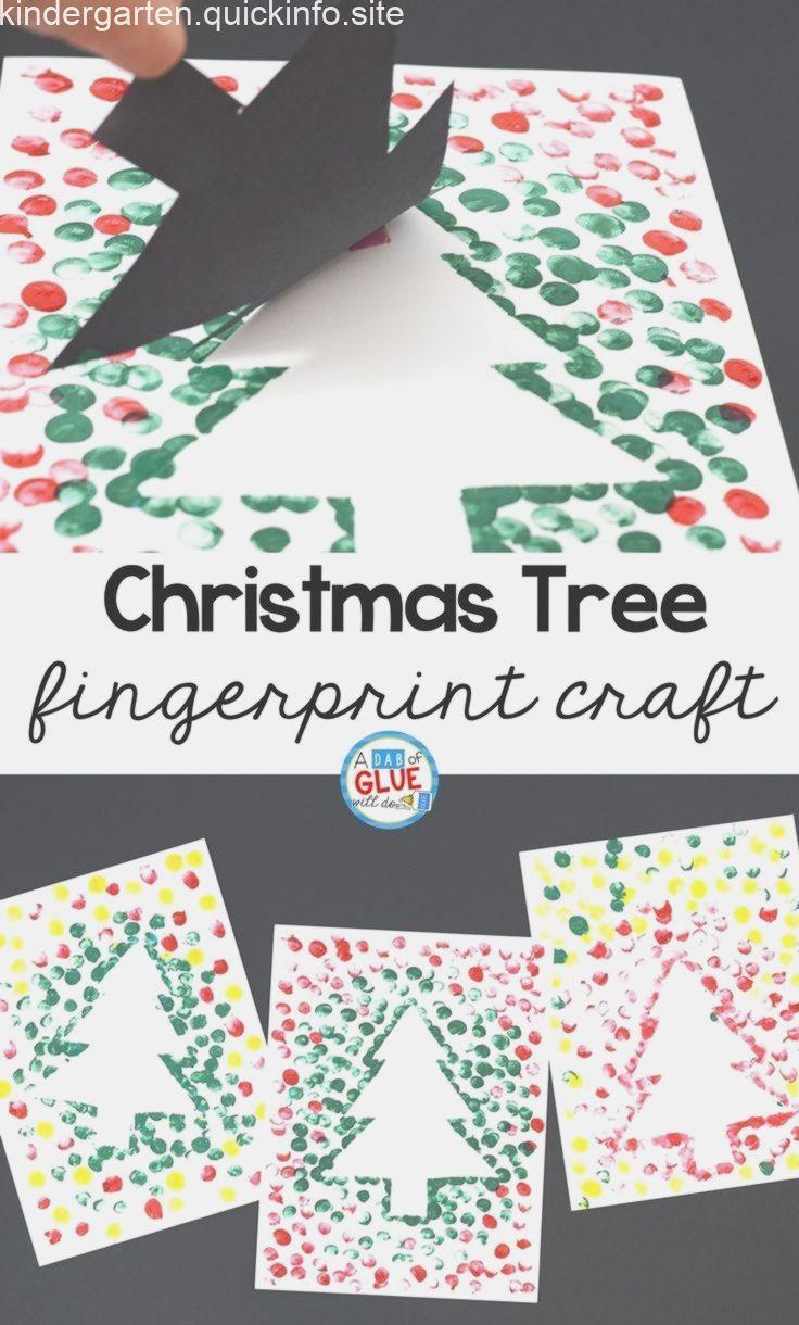 Photo of Erstellen Sie diesen Weihnachtsbaum-Fingerabdruck in Ihrem Kindergarten-Klassenzimmer als