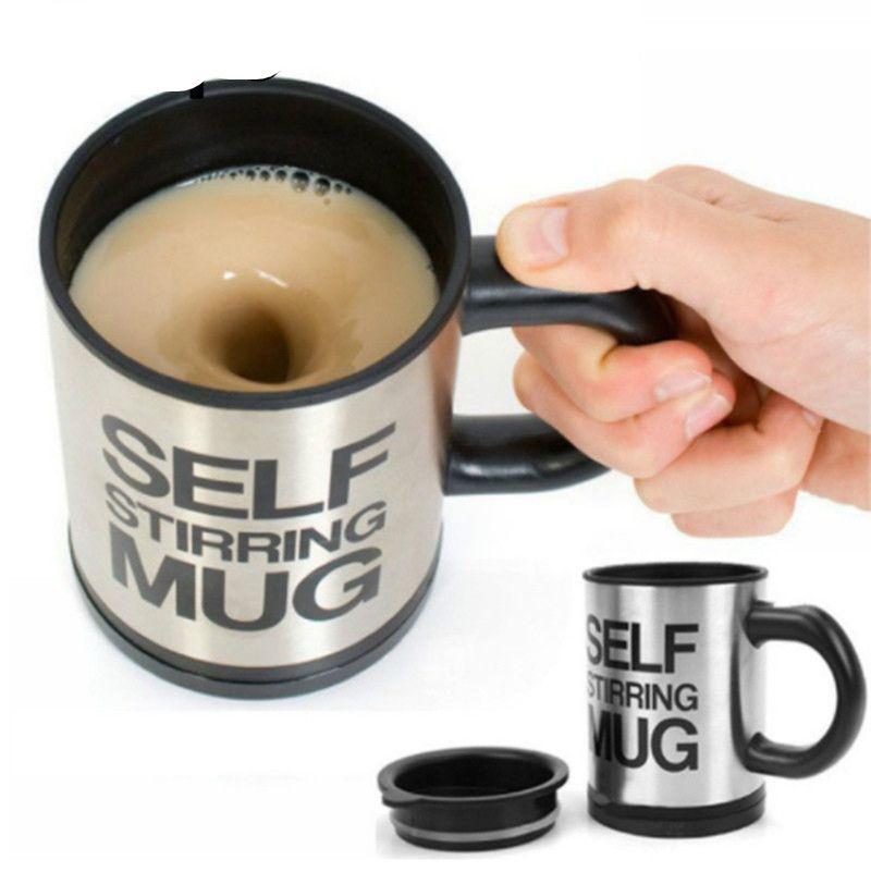 400Ml Automatic Electric Self Stirring Mug Automatic Coffee Milk Mixing #coolelectronics