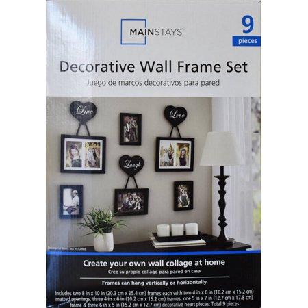 Home Wall Frame Set Heart Frame Frame