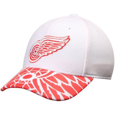 new concept 863d7 6ef78 Detroit Red Wings Reebok Face Off Draft Flex Hat - White