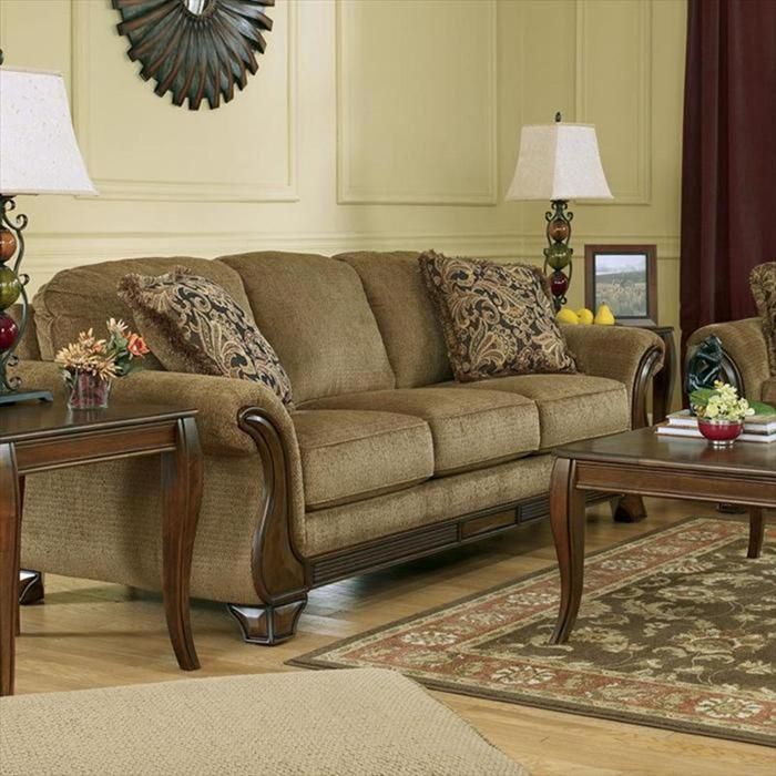 Lansbury Sofa In Autumn Quality Living Room Furniture Brown Living Room Traditional Living Room Furniture #nfm #living #room #sets