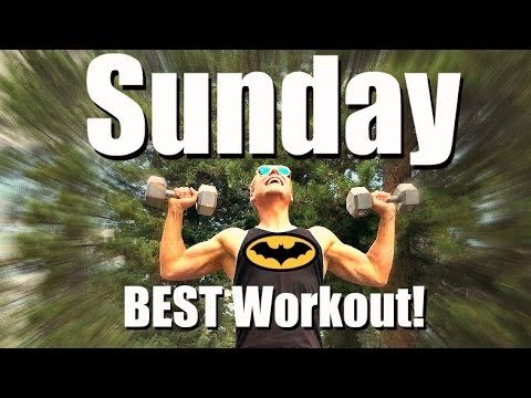 Sunday - Dynamic Total Body Strength Workout - 7 Day Fitness Challenge #...