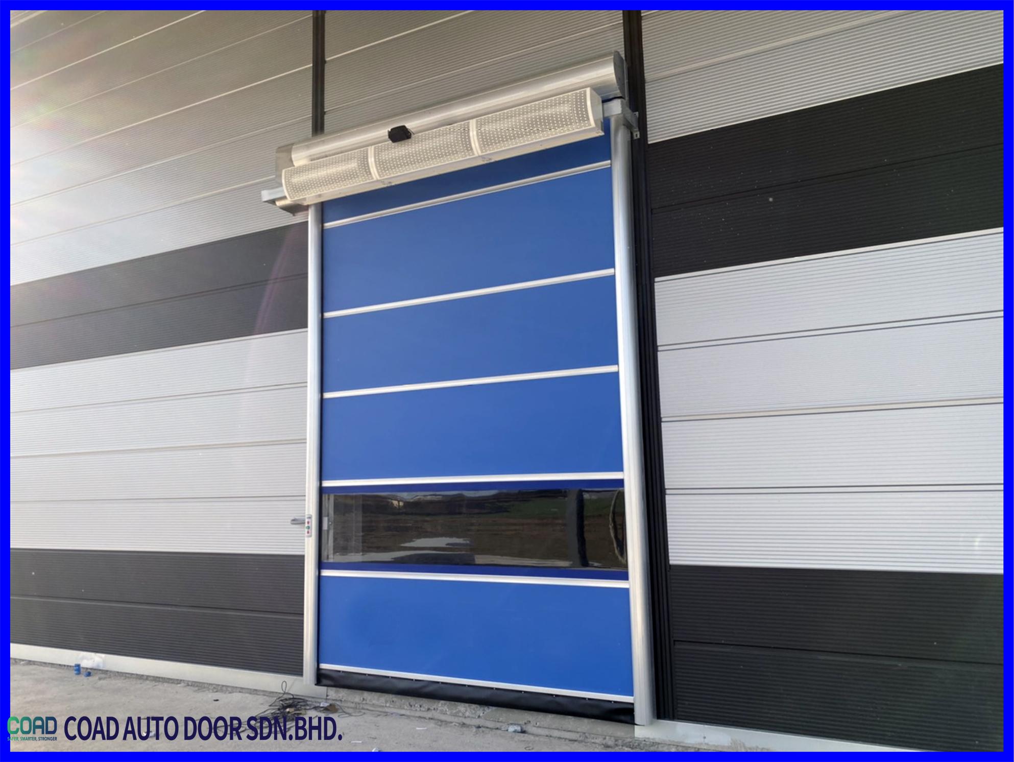 Coad High Speed Door System Makes Operation Easier Automatic Door High Speed Doors