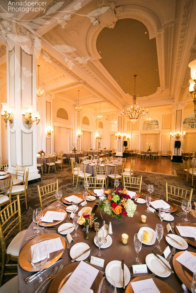 Atlanta Wedding Reception Venue The Grand Ballroom At The Georgian
