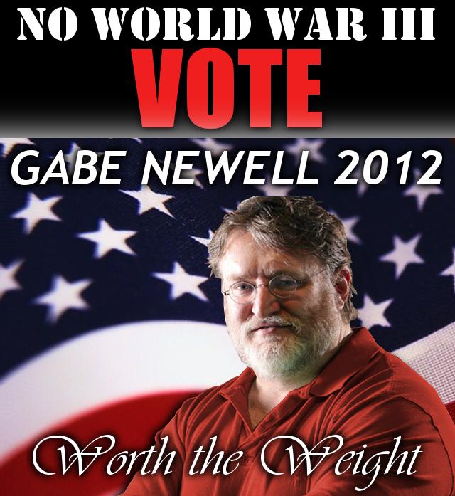 Gabe Newell 2012 Newell Gabes World War