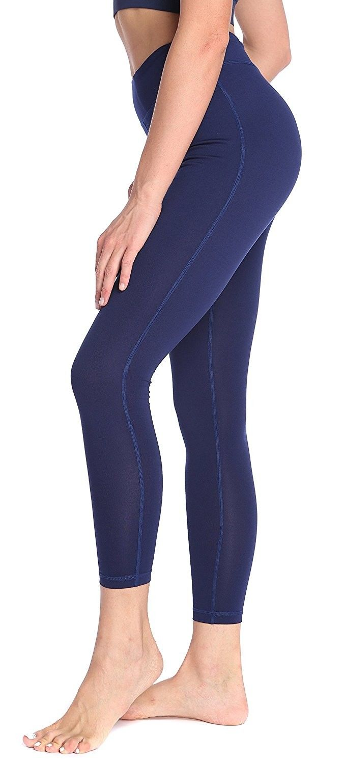 29ef15a41d6c3 Women's Power Flex Yoga Pants with Pocket Workout Leggings - Navy Blue -  C1182KC0ZKR,Women's Clothing, Leggings #women #fashion #clothing #style  #sexy ...