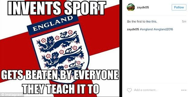 Others lamented how England gave football to the world and yet 'get beaten by everyone the...