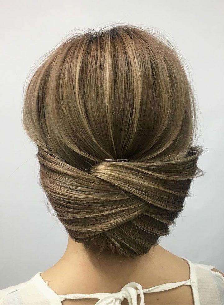 elegant updo hairstyle ideas