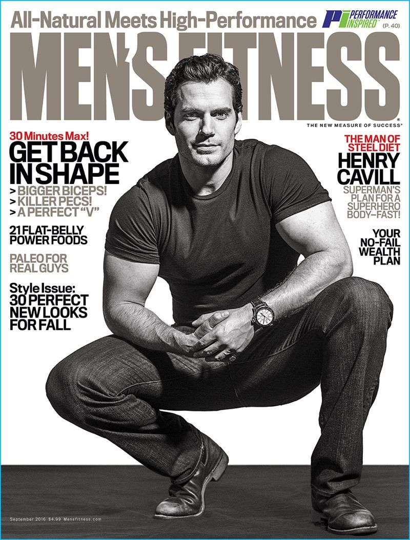 Henry Cavill Covers Men\'s Fitness, Dishes on Regular Workouts ...