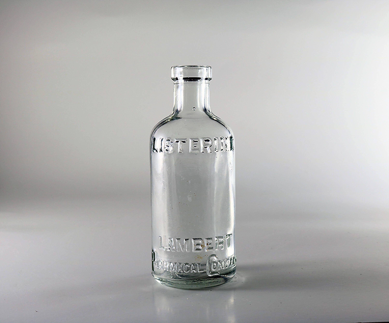 Vintage listerine bottle dating
