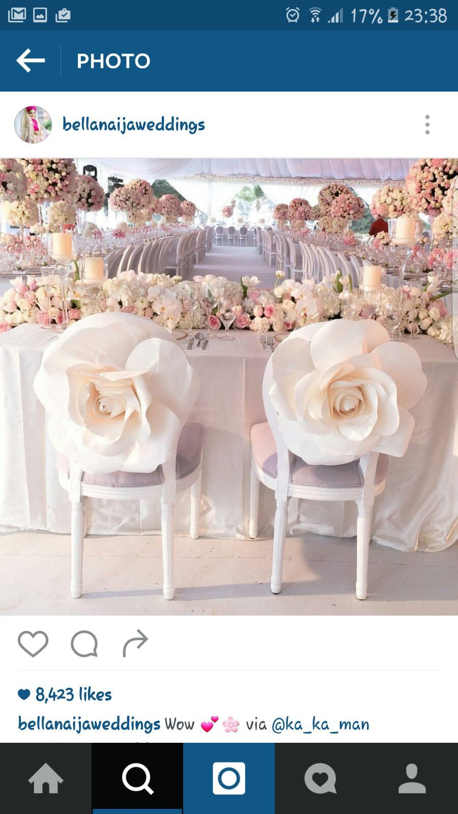 Follow Us Signaturebride On Twitter And On Facebook At Signature Bride Magazine Wedding Chair Decorations Wedding Chairs Wedding Decorations