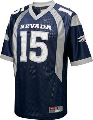 Nevada Wolf Pack Football Jersey Nike Navy 15 Replica Football Jersey Nevada Wolf Pack Jersey Sports
