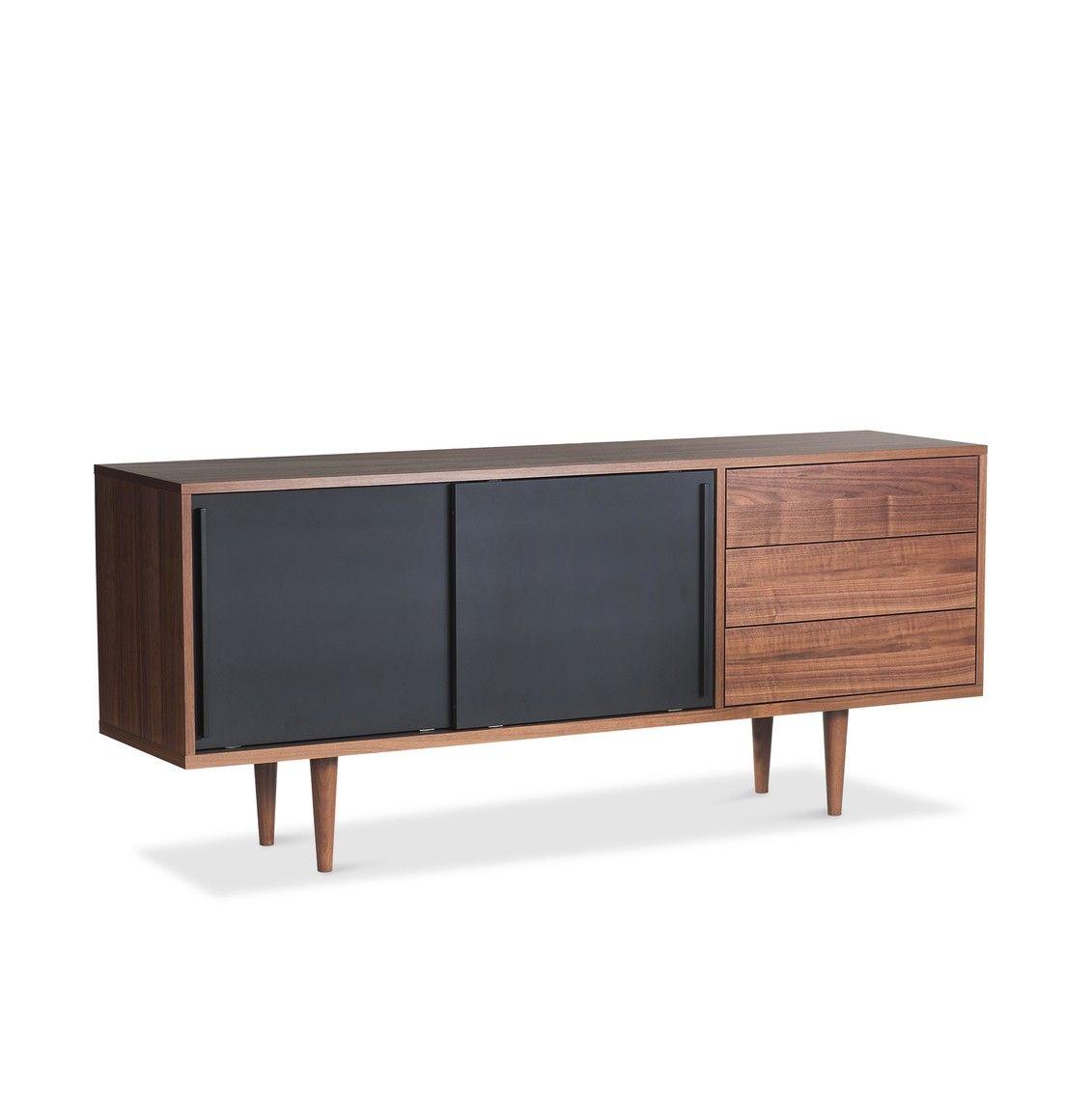Sideboard Anina Nussbaum Nussbaum Furniert 14952001 0 60er Mobel Mobeldesign Haus Deko