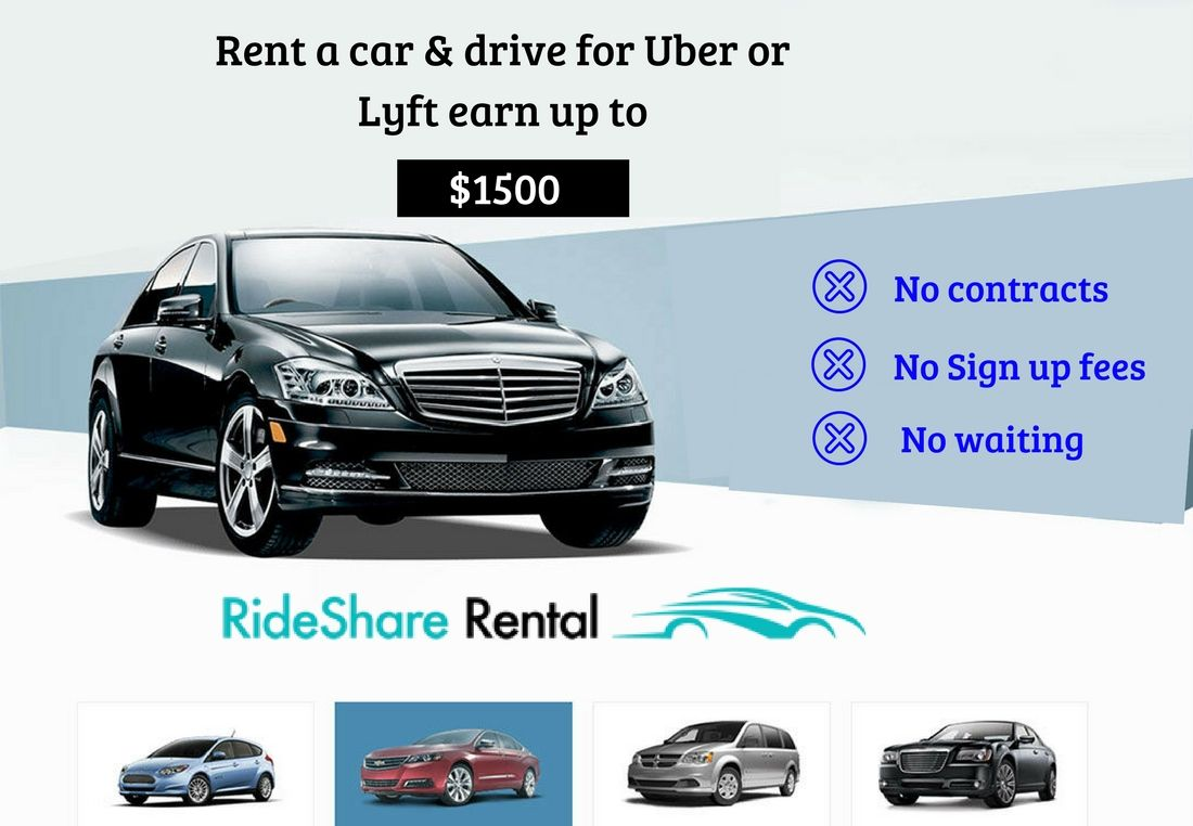 Make Money By Driving To Rideshare Companies Rideshare Car Rental Service Car Rental