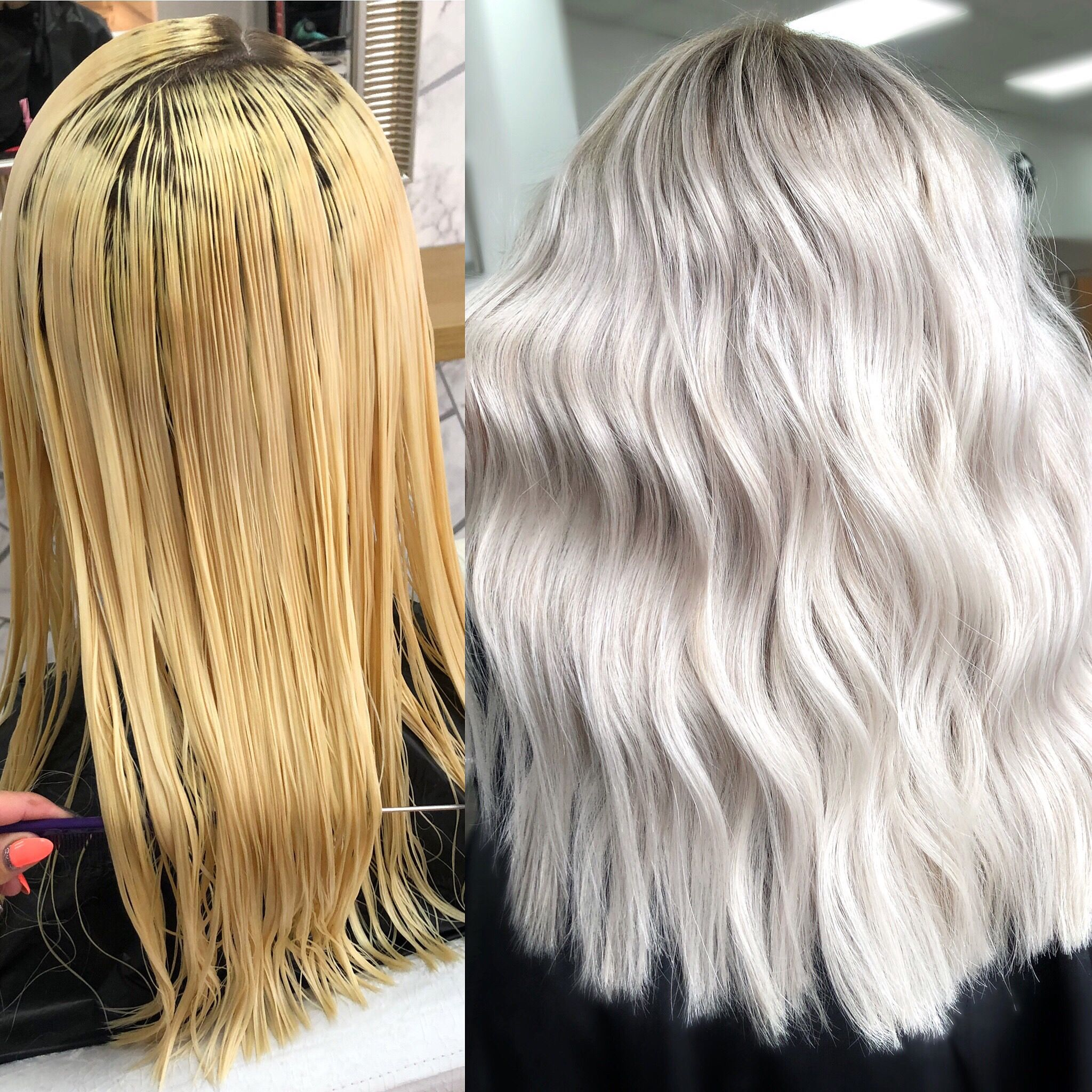 Makeover The Importance Of Proper Toning Toner For Blonde Hair