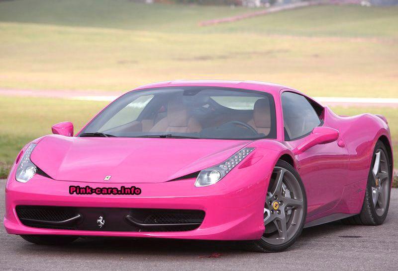 Ferrari 458 Italia | Pink!! | Ferrari 458, Ferrari, Ferrari car