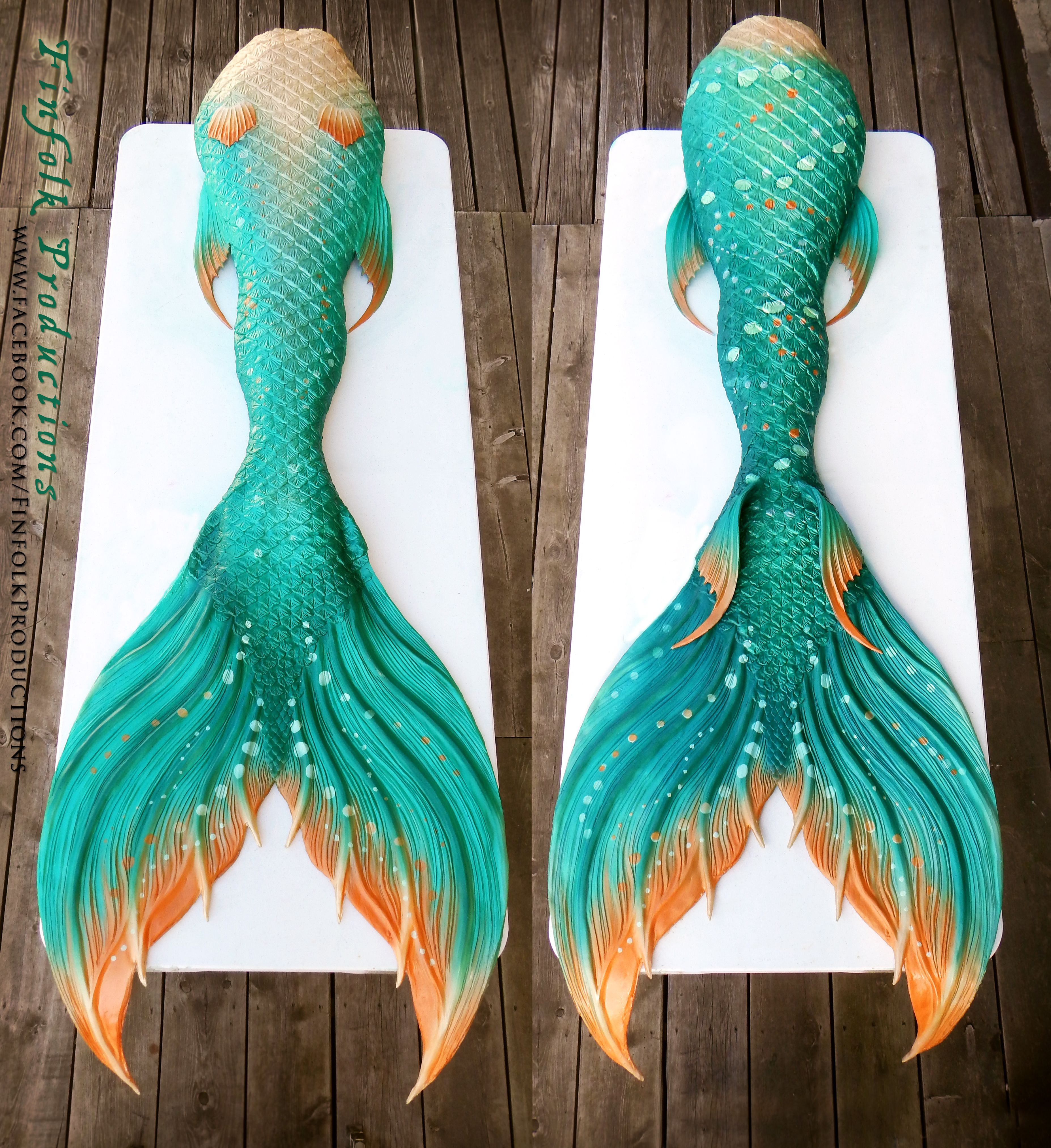 Finfolk Productions Silicone mermaid tails, Mermaid swim