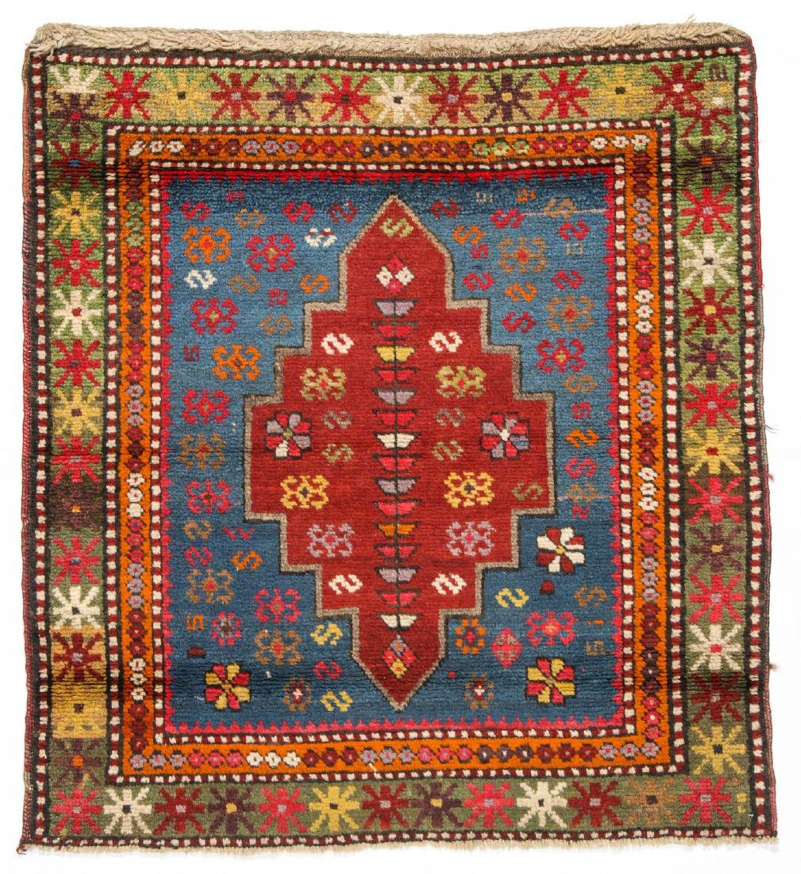 Antique Kazak Rug 2 11 X 3 2