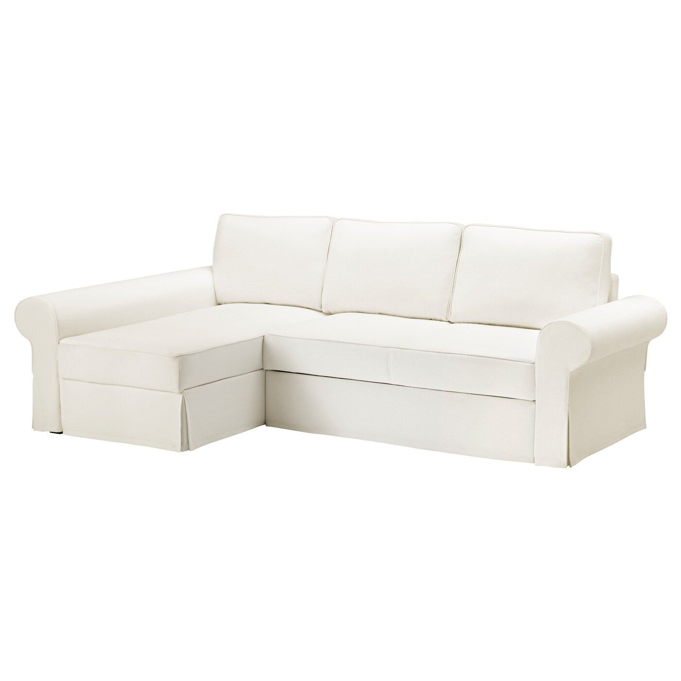 Ikea Chaise Longue Slaapbank.Backabro Hoes Slaapbank Met Chaise Longue In 2020 Sofa Bed With
