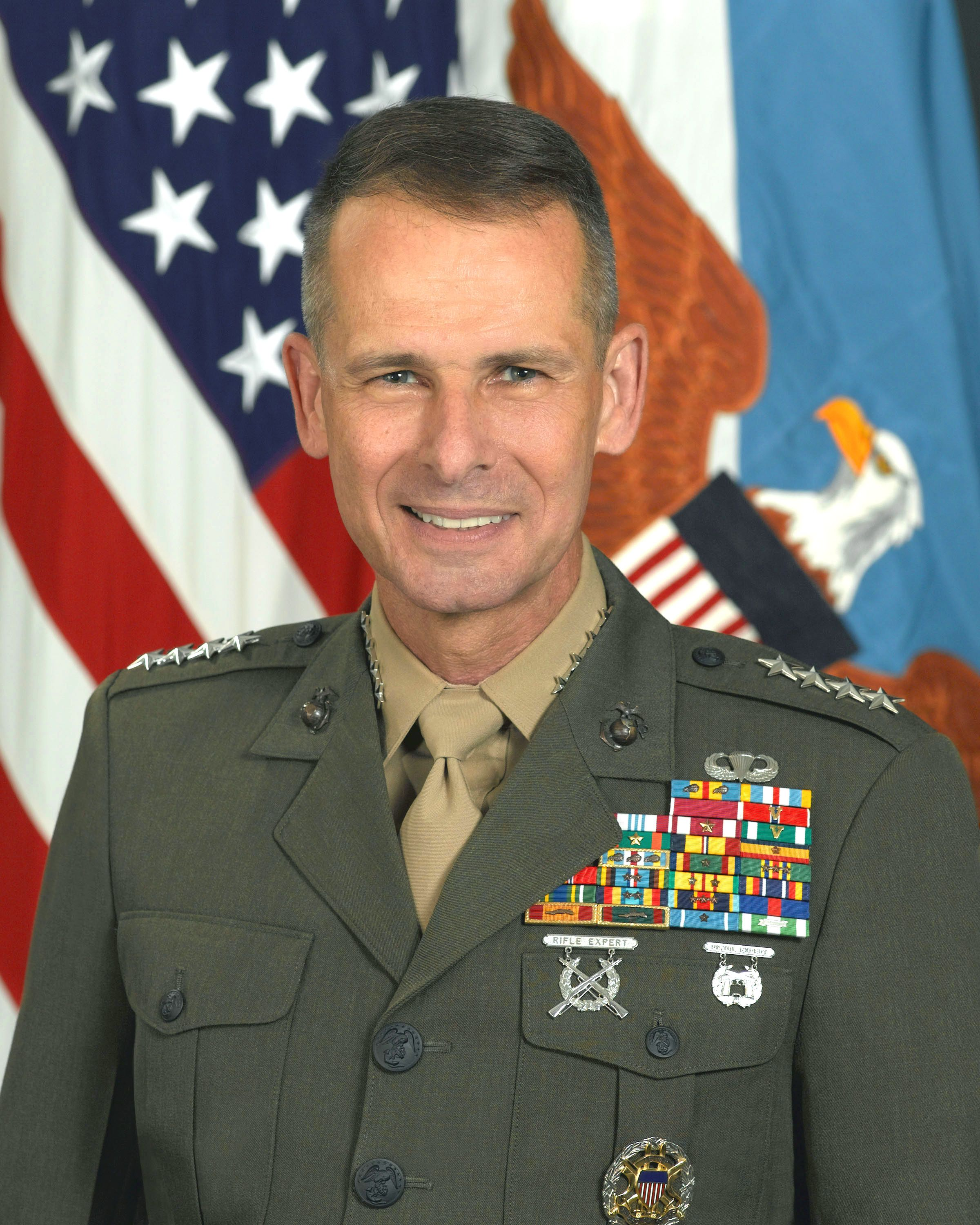 U.S. Marine Corps General Peter Pace, Chairman of the ...