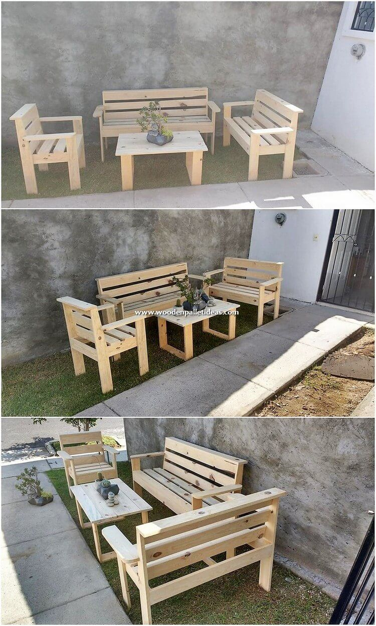 Pallet furniture Classroom - Enchanting Ideas for Recycling Old Wood ...