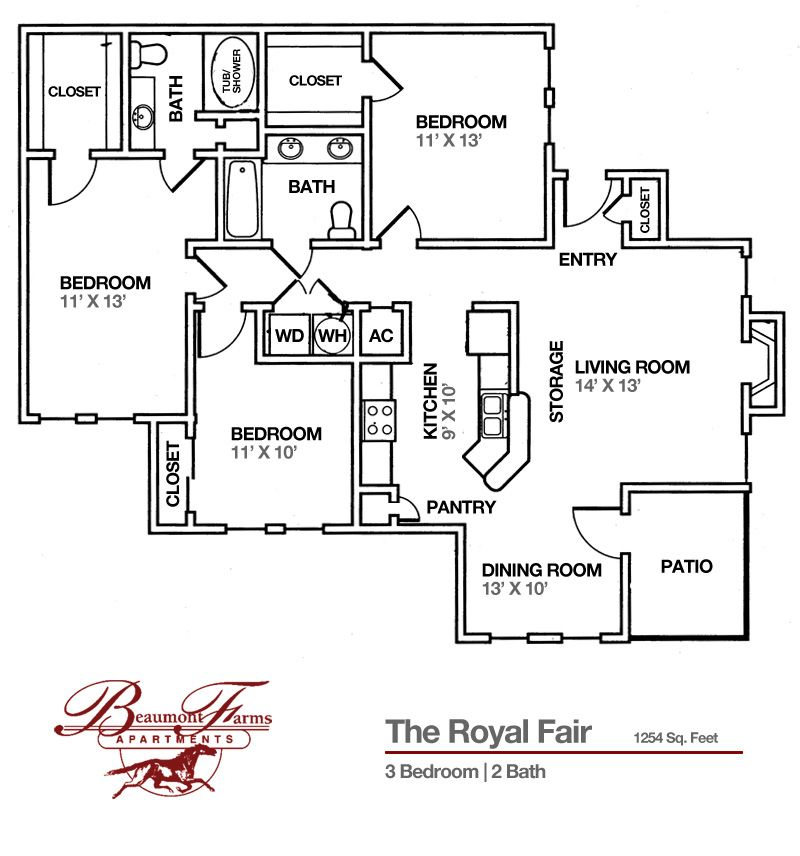 Lexington Square Apartments: Lexington KY Apartment @ Beaumont Farms 'The Royal Fair