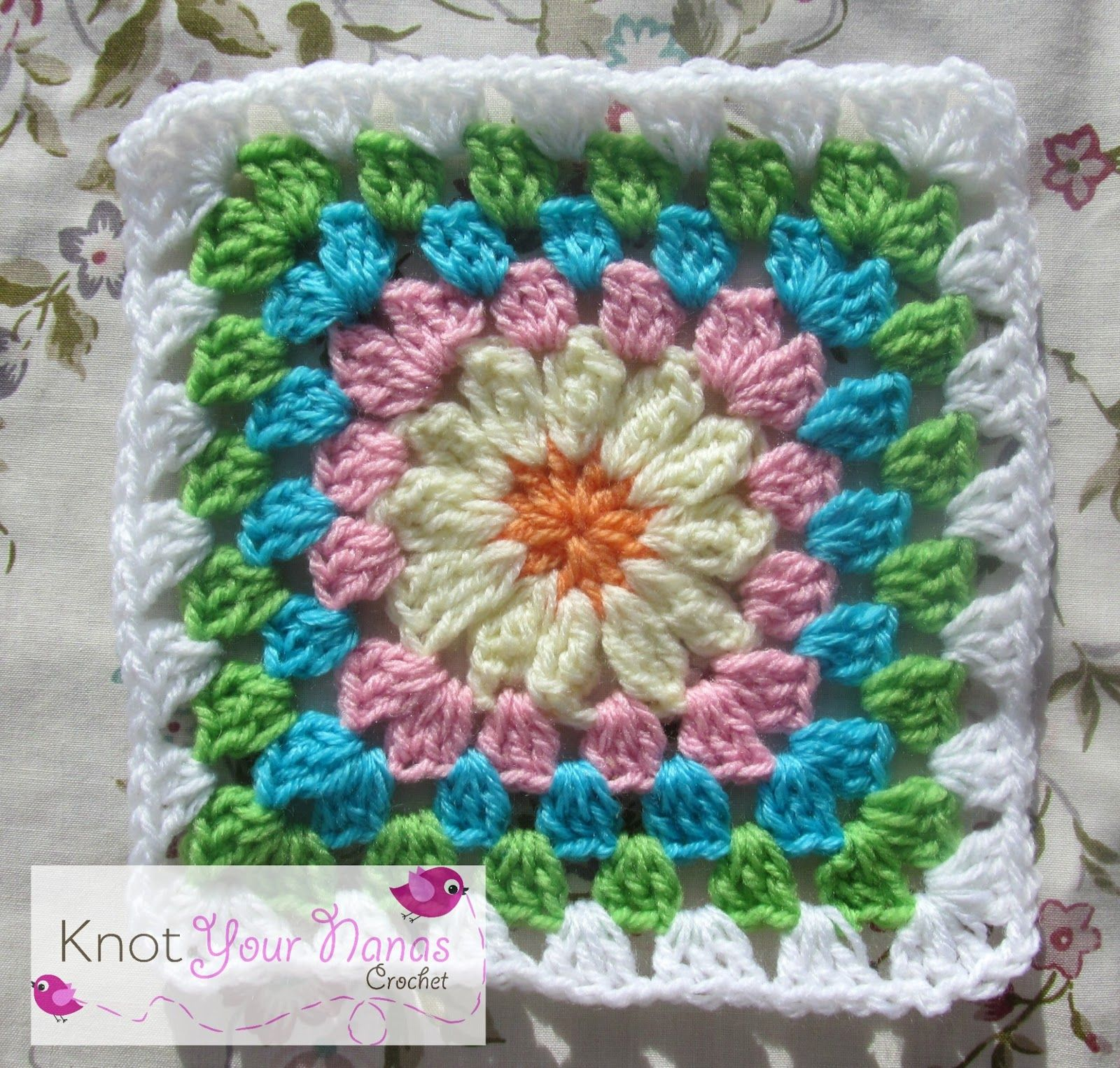 Knot Your Nanas Crochet: Granny Square CAL (Week Four)