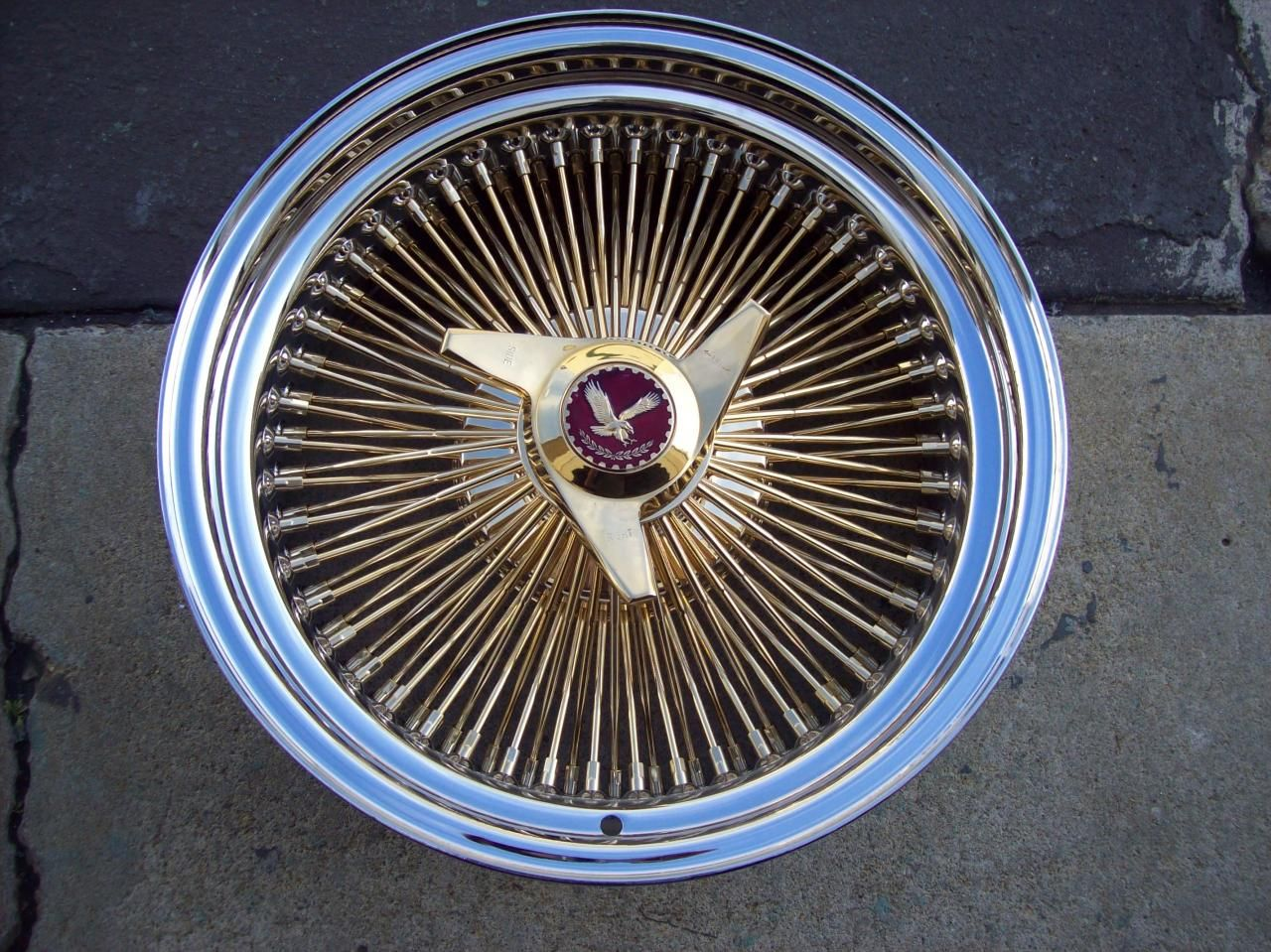 Lowrider rims 4 sale - Spoke Rims Copyright 2010 Wire Wheel King All Rights Reserved