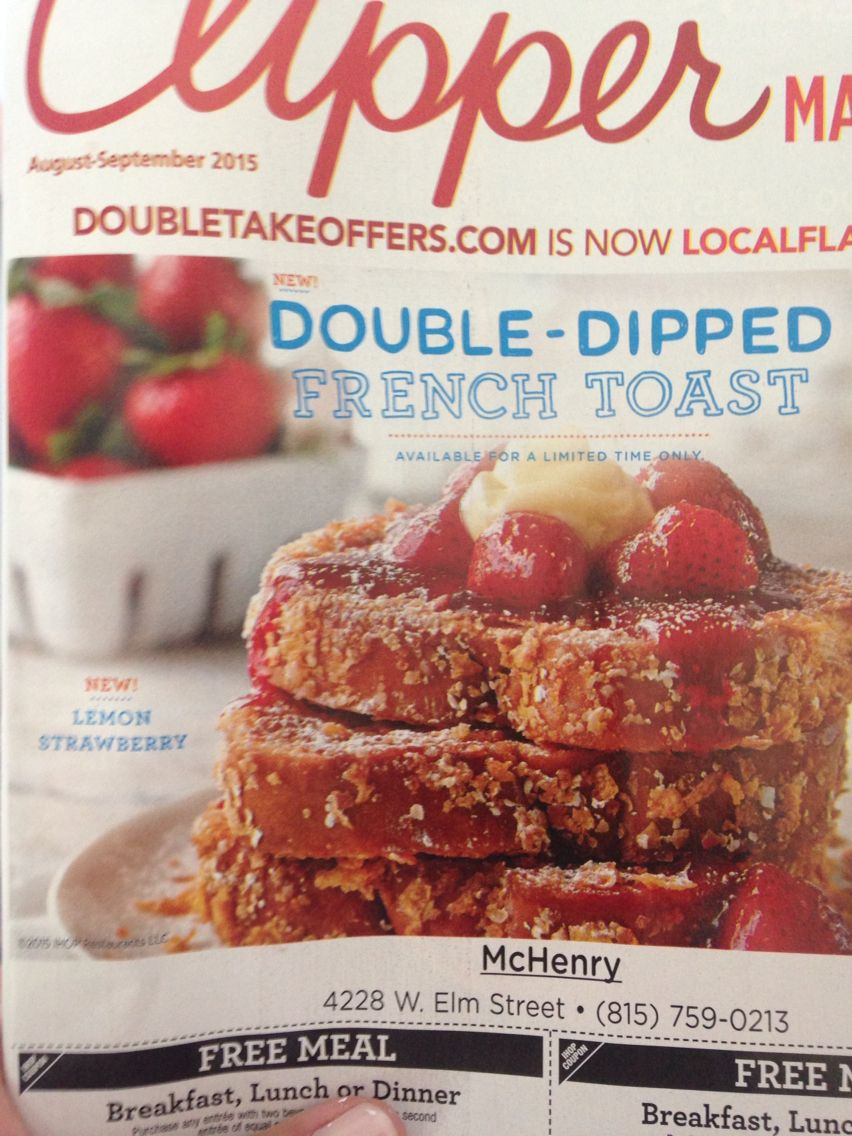 Strawberry lemon double dipped French toast!
