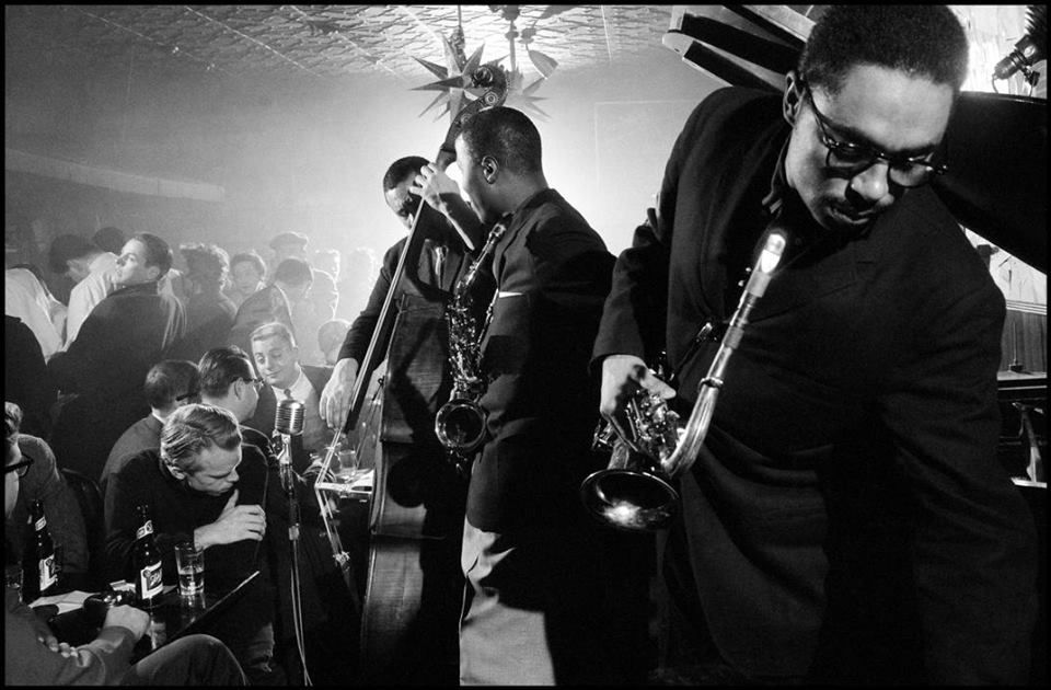 Charles Mingus and his band (Horace Parlan, John Handy, and Booker Ervin)