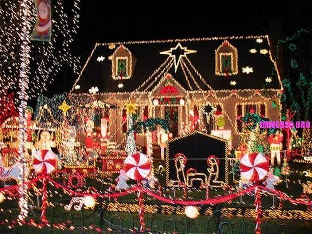 Immagini Di Case Natalizie.Le Piu Belle Decorazioni Natalizie Di Case Natale