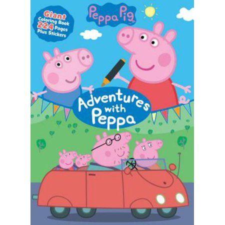 peppa pig adventures with peppa  walmart  coloring