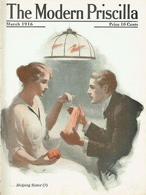 MAR 1920 MODERN PRISCILLA MAGAZINE FRANK DESCH COVER NEAT