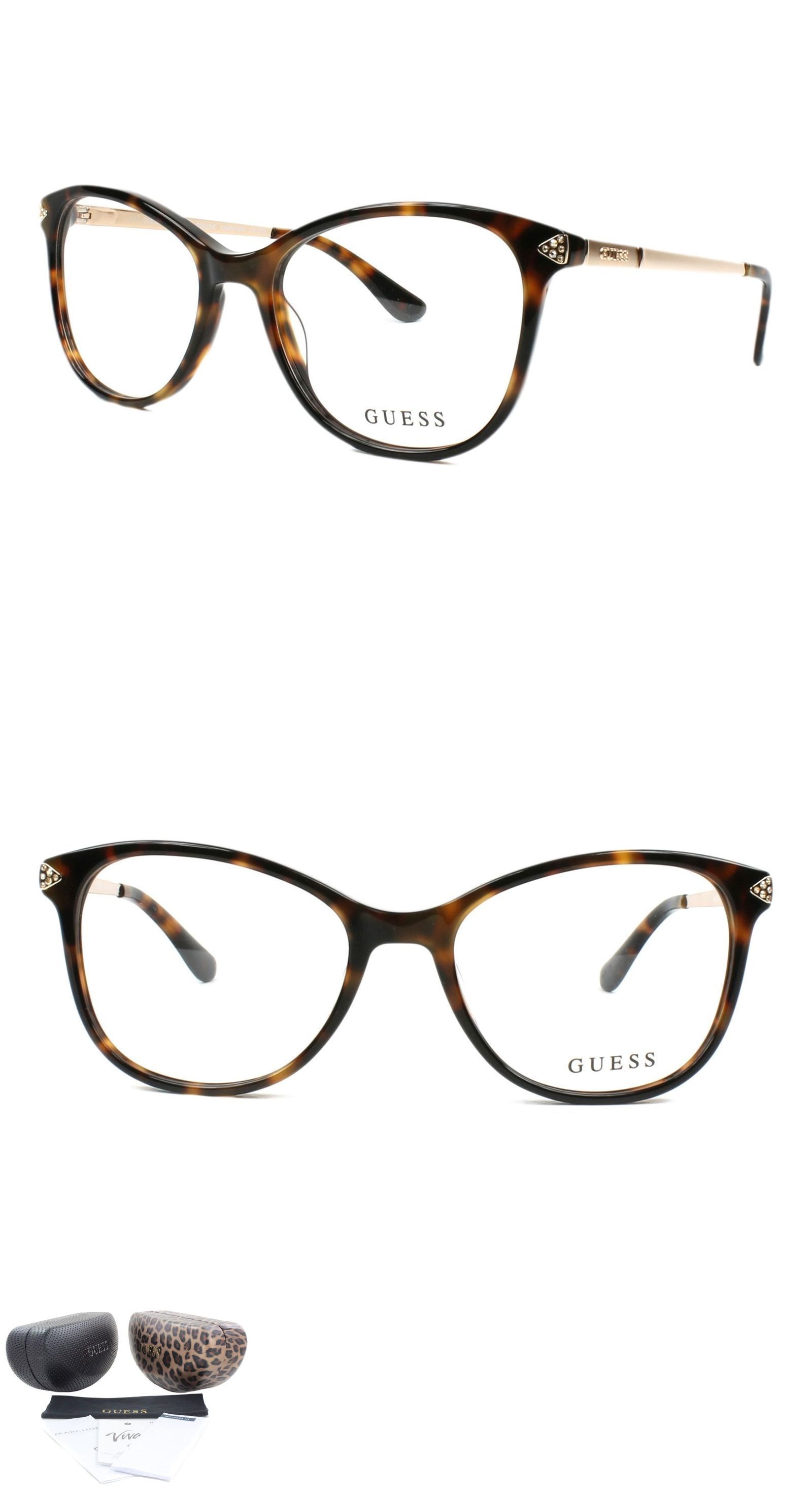 Fashion Eyewear Clear Glasses 179248: Guess Eyeglasses Gu2632-S 052 ...