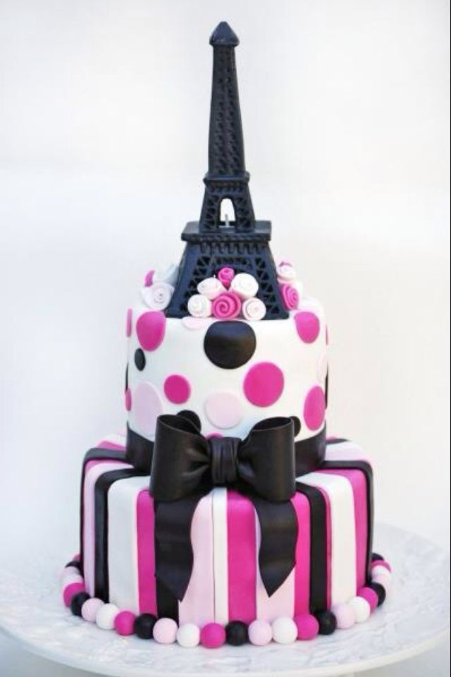 Birthday Cakes For  Year Girls Paris Google Search Cakes - Birthday cake paris france