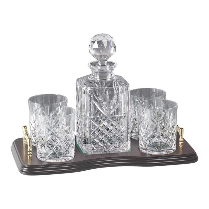 crystal decanter set ebay canada whiskey australia this and brass whisky glass finely crafted
