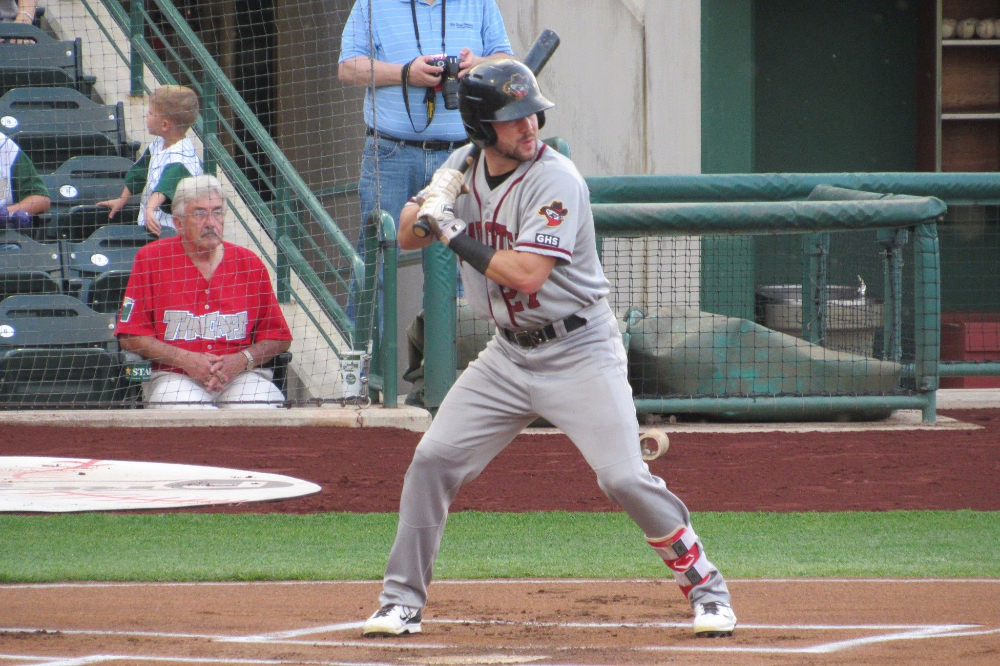 Astros Prospect Chas Mccormick With The Quad City River Bandits Quad Cities Baseball Field Quad