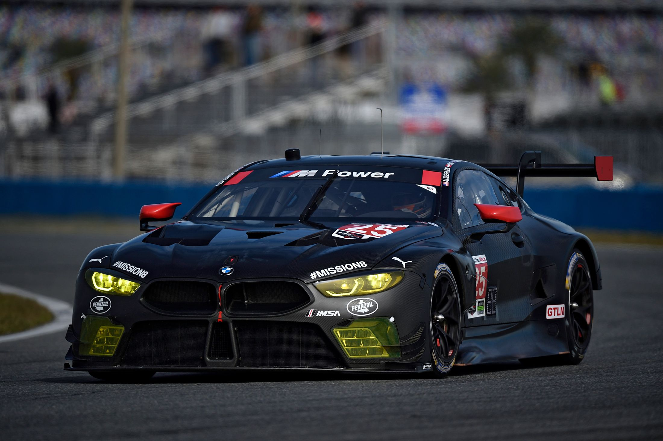 New Bmw M8 Gte Makes Race Debut At The Rolex 24 At Daytona