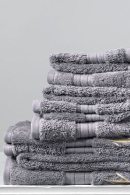 Supima Washcloth, Hand & Bath Towels from Lands' End