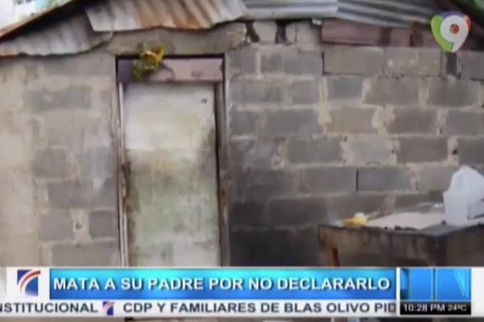 Hijo Mata A Su Padre Supuestamente Por No Declararlo #Video