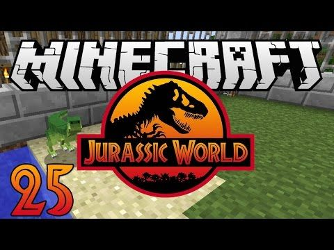 """Minecraft: Jurassic World - Ep. 25 - """"Quest For All The Dinosaurs!"""" (Rexxit Modpack) - YouTube"""