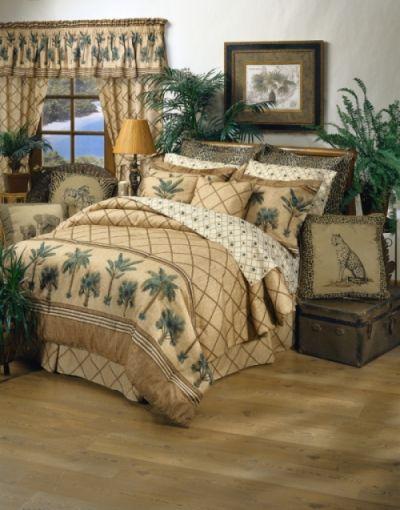 Kona Palm Tree Bedding Comforter Set Bedding Tree