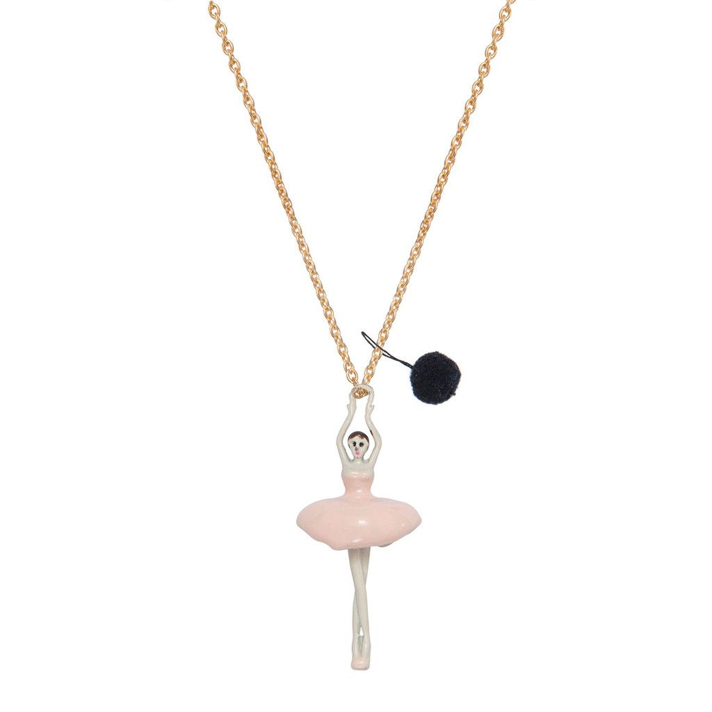 Pink Ballerina Necklace by A Mini Penny
