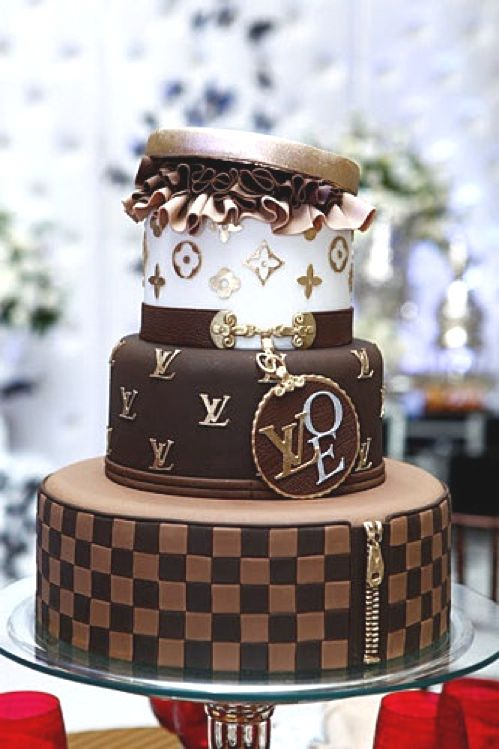 Terrific 30 Best Designer Fashion Birthday Cakes Cupcake Cakes Creative Funny Birthday Cards Online Alyptdamsfinfo