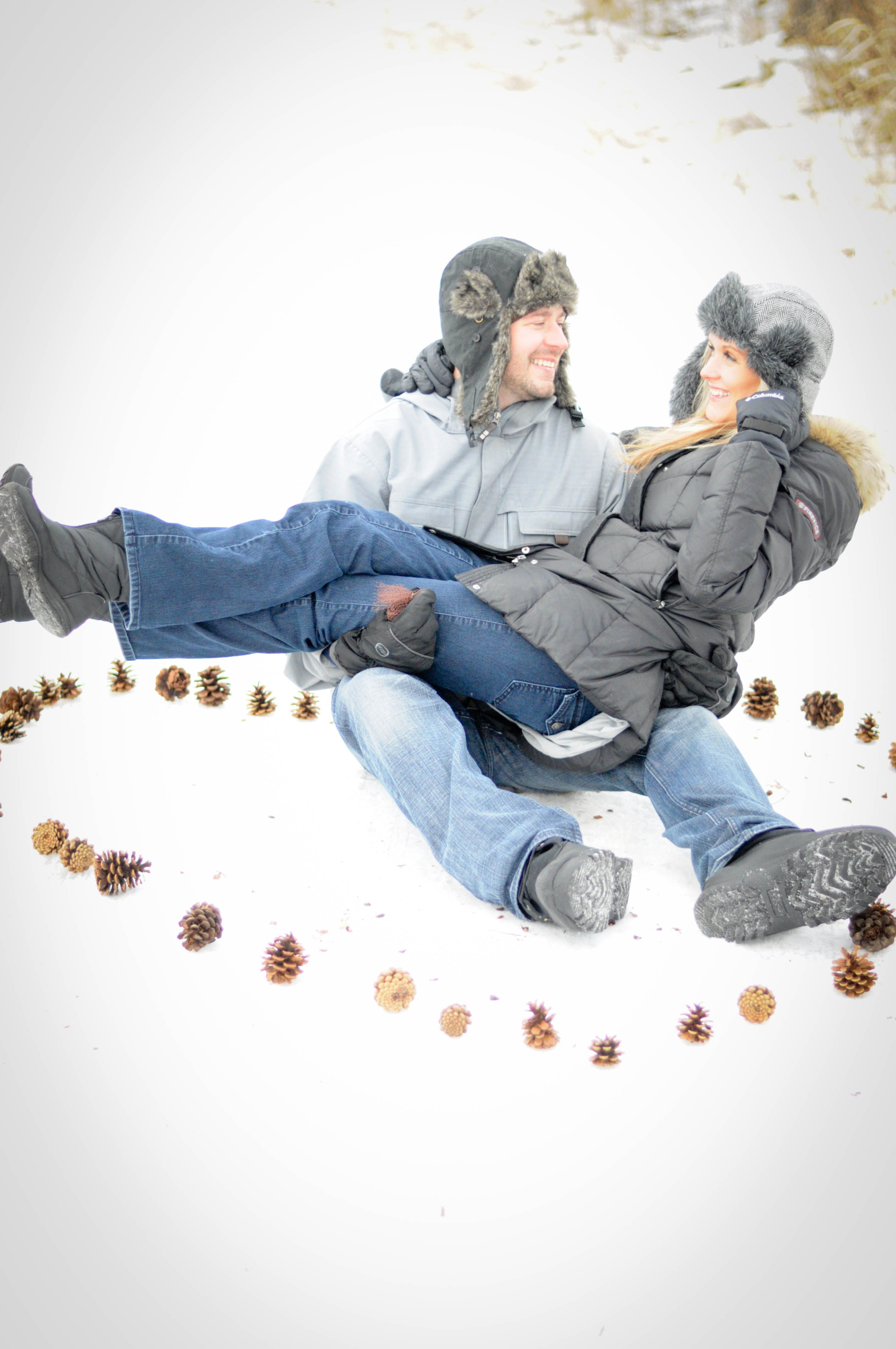 Winter Engagement Photo Session Ideas Props Prop