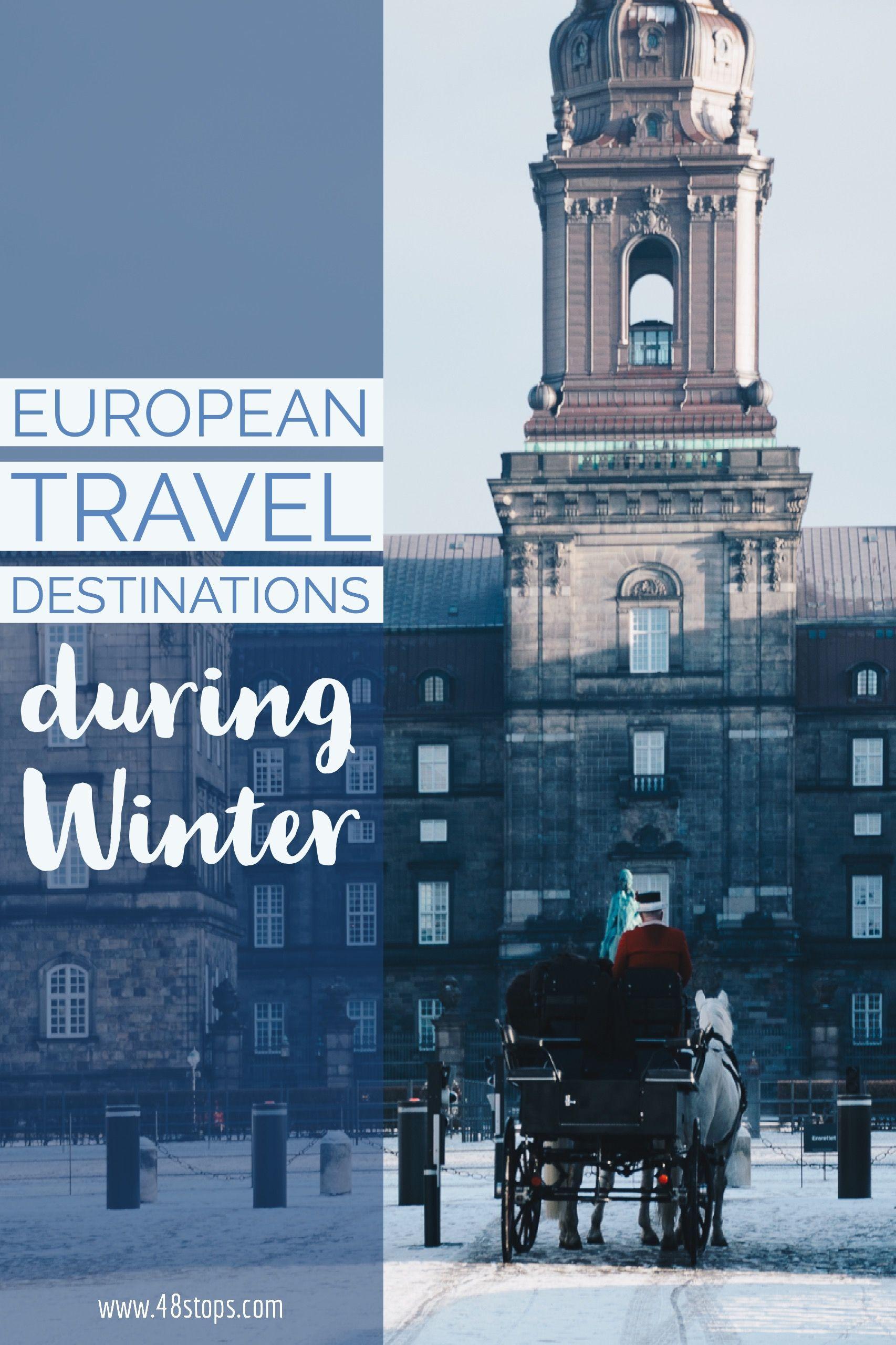 Most Popular Winter Travel Destinations Around Europe