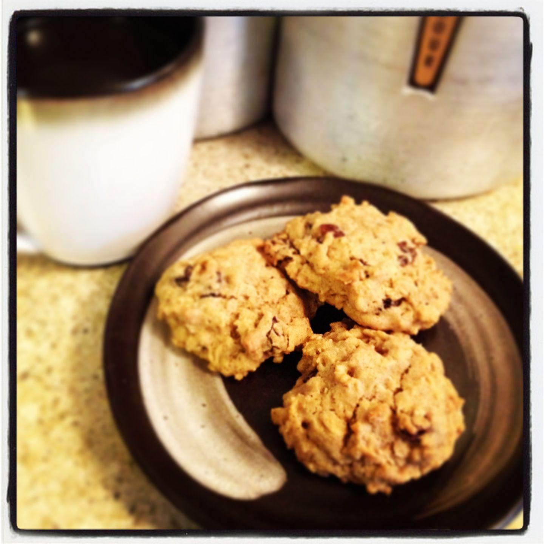 Coffee inspired cookie recipe fair trade ingredients