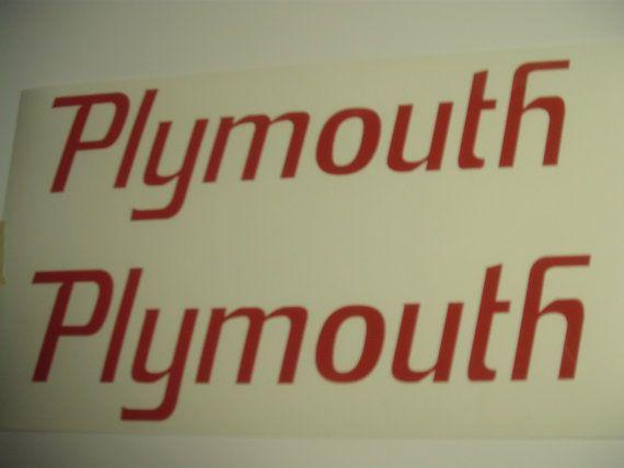 MOPAR Dodge Hemi Plymouth Runner Vinyl by TWISTEDSIGNSBYDESIGN, $4.99